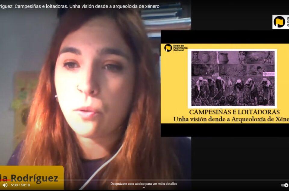 Vídeo RPC | Campesiñas e loitadoras. Unha visión dende a arqueoloxía de xénero, con Celtia Rodríguez