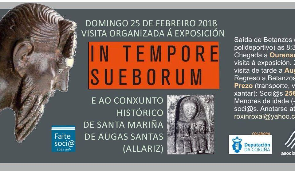 Visita | In Tempore Sueborum e Santa Marinha das Augas Santas