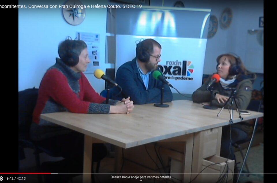 Vídeo | Concomitentes: unha obra de arte colectiva, con Fran Quiroga e Helena Couto