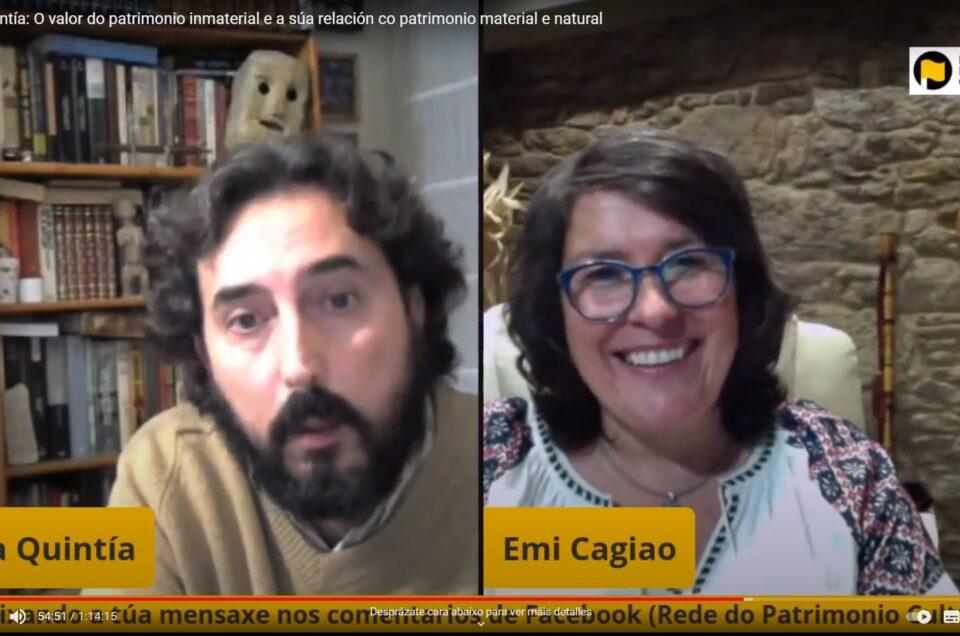 Vídeo RPC | O valor do patrimonio inmaterial e a súa relación co patrimonio material e natural, con Rafa Quintía
