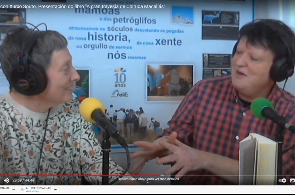 Vídeo | Conversa con Xurxo Souto para a radio e a rede