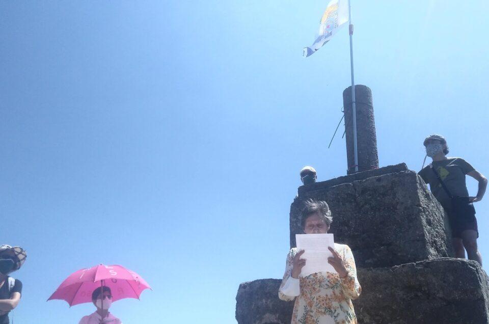Lembrança | RR no aniversário do discurso Alba de Glória, no Pico Sacro