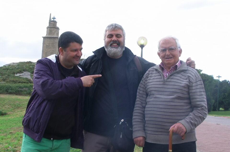 Roteiro | Mares, ventos e rochas da Torre, con Xurxo Souto, Fernando Patricio e Milucho Mariñas