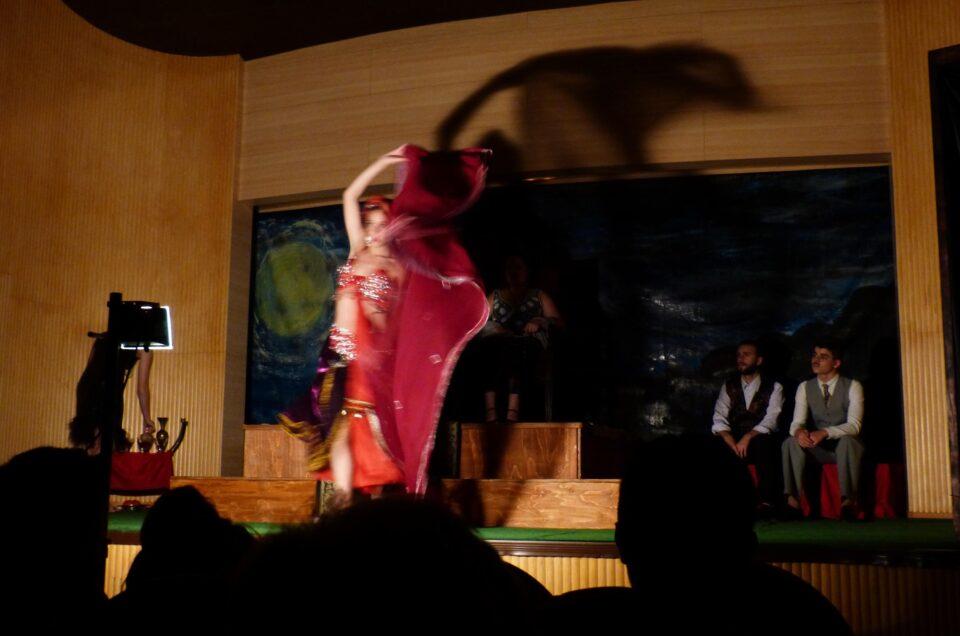 """Representação de """"A Dança de Salomé"""""""