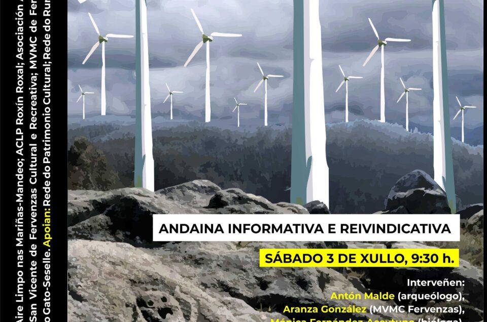 Eólicos | 3 de xullo, data da nova andaina ao Monte do Gato