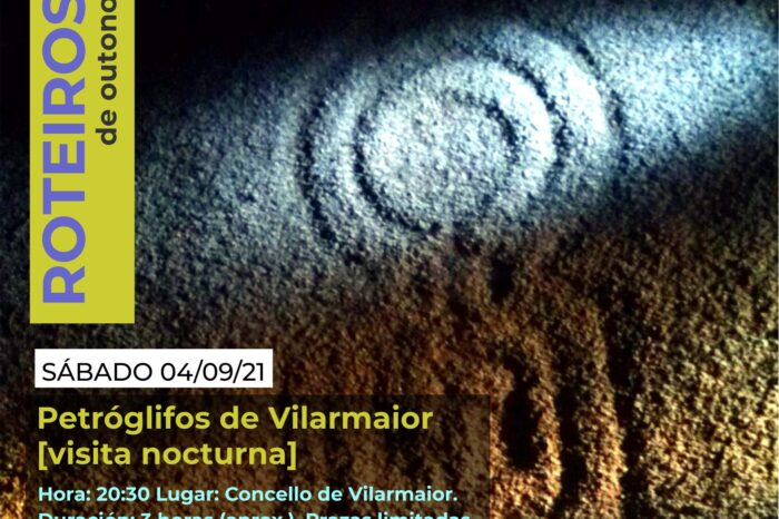 Visita nocturna aos petróglifos de Vilarmaior